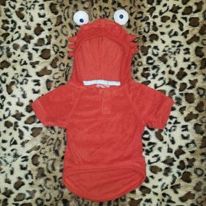 Small dog crab costume